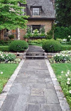 #stone #walkway #entrance