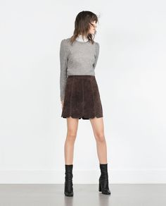 CROP TOP-View all-Tops-WOMAN   ZARA United States