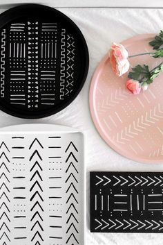 DIY Mudcloth Design