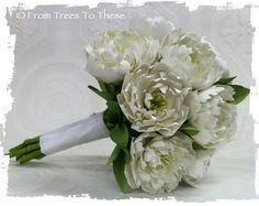 Traditional Peony Bouquet Set