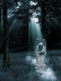 Angels Beyond the Grave...    My inner landscape