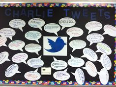 As my 8th graders studied Flowers for Algernon and looked at how Charlie is a dynamic character, I had them tweet from Charlie's point of view after significant progress reports. Students enjoyed reading each other's tweets every few days and enjoyed creating #'s that were specific to the story.