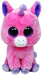 Ty Beanie Boos Magic Plush - Pink Unicorn: Beanie Boos are They are made from Ty's best selling fabric - Ty Silk, and are created with fantastic custom eyes. Ty Stuffed Animals, Plush Animals, Beanie Babies, Ty Boos, Pet Toys, Kids Toys, Ty Beanie Boos Collection, Ty Plush, Kids Toy Store