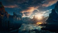 Venice by Roberto Oleotto | Matte Painting | 2D | CGSociety