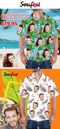 Custom Clothes, Custom Shirts, Design Your Own, Hawaiian, Christmas Holidays, Plus Size, Fashion, Custom Tailored Shirts, Christmas Vacation