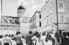 In this amazing town every wedding photo looks great. This one shows wedding party walking through the streets of Dubrovnik - towards the Cathedral.   #dubrovnik #destinationweddingphotographer #dubrovnikweddingphotographer #bridalparty #friendsonwedding #stunningweddingphotography #junebug #photobugcomunity #fearlessphotographers #theknot #weddingwire