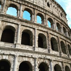 Roman Colosseum Up Close by Tashia Summers Travel Around The World, Around The Worlds, Eurotrip, Roman, Louvre, Europe, Building, Instagram Posts, Summer