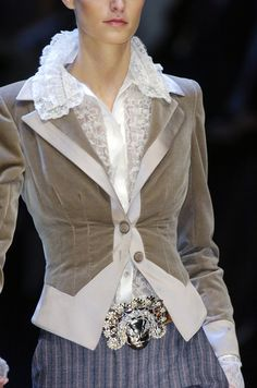 Love the jacket and blouse!