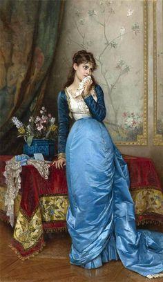 The Letter (Auguste Toulmouche - 1879)