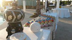 Angolo arabo #ideebuffet #borgodegliangeli #weddingresort #piscinadegliangeli