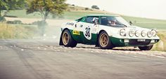 Rally Legend: The Lancia Stratos Steve Mcqueen Le Mans, 70s Cars, Chasing Cars, Rally Car, Car And Driver, Cars Motorcycles, Vintage Cars, Race Cars, Cool Cars