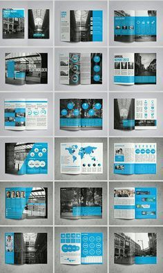 15 Folders modernos e criativos – – Yearbook jOURney References – layout Template Brochure, Design Brochure, Booklet Design, Brochure Layout, Branding Design, Report Template, Creative Brochure, Indesign Templates, Business Templates