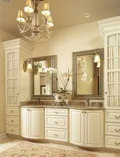 fill out your bathroom with victorian style | bathroom cabinets