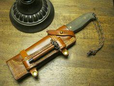 Custom Wilderness Knife O1 tool steel handle by LajoieKnifeWorks, 220.00
