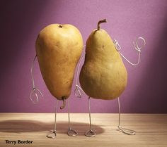 a pair of lovers by Terry Border.