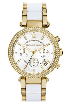 MICHAEL+Michael+Kors+Michael+Kors+'Parker'+Chronograph+Watch,+39mm+available+at+#Nordstrom
