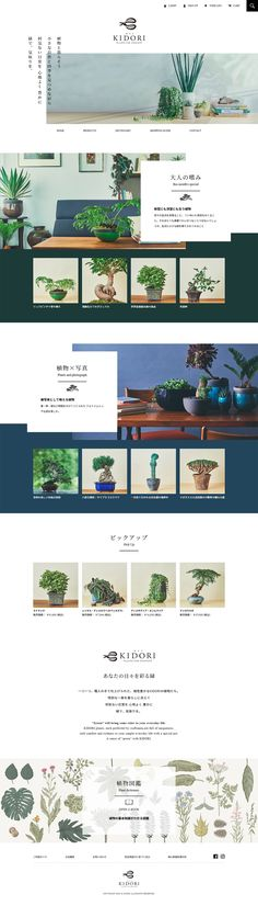株式会社リンクフローリスト様の「KIDORI -キドリ-」のランディングページ(LP)シンプル系|ペット・花・DIY工具 #LP #ランディングページ #ランペ #KIDORI -キドリ-