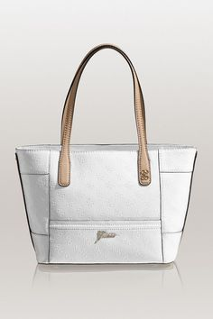 I've found some cool women's bags at Guess today! And my favorite is the REIKO CARRYALL TOTE Perfectly sized for daytime outings and weekend getaways, this carryall features the distinctive contrast of high-shine patent and matte faux-leather trim. No wonder Guess is one of the leading fashion brand nowadays. Their products are superb! Check out their collection and shop for women's bags today!  http://shop.guess.com/Catalog/Browse/Women%27s%20Accessories/Handbags%20_and_%20Wallets/