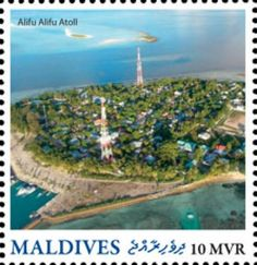 MLD16213a Maldives, Golf Courses, Stamps, Paper Envelopes, The Maldives, Seals, Postage Stamps
