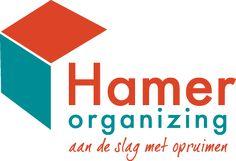 Logo Hamer Organizing #petrol #tangerinetango #organizing