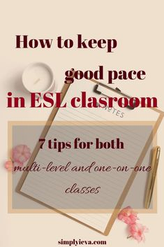 How do you keep pace in a mixed level ESL classroom? Here are some tips on how to pace your multi-level ESL lesson Teaching Resources, Classroom Resources, Teaching Ideas, Esl Lessons, Learn English Words, English Language Learners, Teaching English, Languages, Track