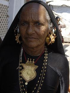 India   Rabari woman. Certainly a very rich one! Gujarat.   © Priya Jain.