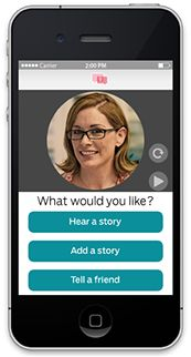HERSTORY - from Gamgee, same company as 22Otters. Virtual emotional support platform of crowdsourced stories by and for women with cancer.