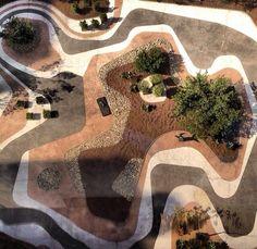 Burle Marx | #patternity #green #landscape #contemporary