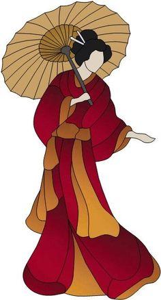 Geisha by Manon Cayer