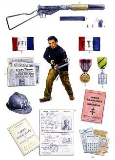 Maquisard, 1944