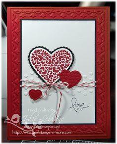 tulip frame embossing folder, embosslit hearts