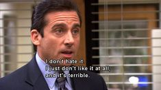 For seven seasons, Michael Scott led The Office proudly, inappropriately and without common sense. Here are 82 reasons why Michael Scott was the World's Best Boss. Memes Work Offices, Office Memes, Best Office Quotes, School Quotes, School Humor, Funny School, Worlds Best Boss, Freddy 's, Steve Carell