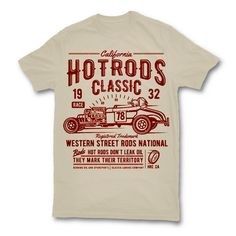 Hot Rods Race Classic Tee shirts Tee Shirts 971669d6b3765