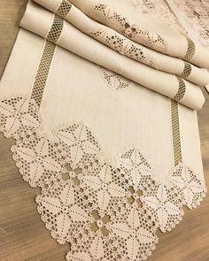 Crochet Curtains, Crochet Tablecloth, Crochet Doilies, Crochet Borders, Crochet Stitches, Crochet Patterns, Crochet Home, Crochet Granny, Fillet Crochet