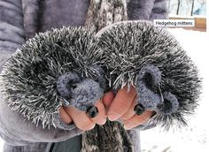 Grosgrain: Hedgehog Mittens