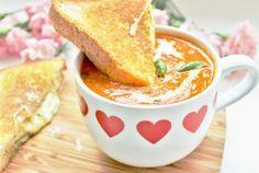 Delicious & Gluten Free: Tomato & Basil Soup Recipe