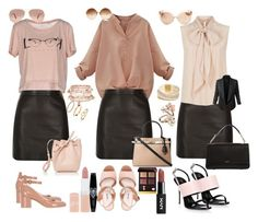 """Outfit 6"" by marionmeyer on Polyvore featuring Mode, ONLY, River Island, MaxMara, LE3NO, Gianvito Rossi, Miu Miu, Giuseppe Zanotti, DKNY und Mansur Gavriel"