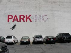Banksy....always controversial with a message!