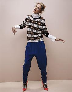 Suvi Koponen for Vogue UK July 2012 by Josh Olins (1)