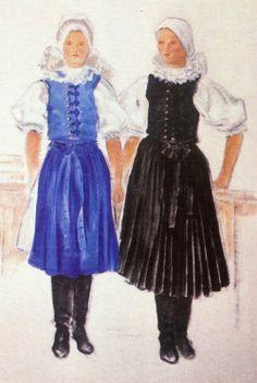 Brezova pod Bradlom, Slovakia Folk Costume, Costumes, Family History, Harajuku, Goth, Embroidery, Style, Fashion, Gothic