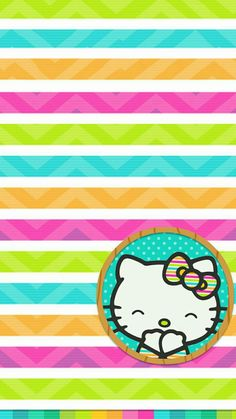 Friends Wallpaper, Rainbow Wallpaper, Summer Wallpaper, Hello Kitty Wallpaper, Striped Wallpaper, Colorful Wallpaper, Cellphone Wallpaper, Iphone Wallpaper, Cute Wallpapers