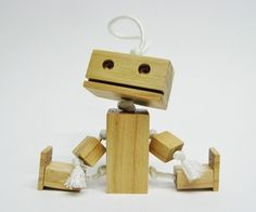 CAMP TUTU: (Make with Grandad) Make your own adorable wooden robot companion!This is an easy project, and sure to make people smile. Enjoy!