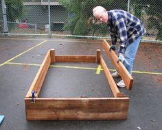 Constructing Raised Bed Gardens, Raised Bed Garden Plan, Building Raised Garden Beds