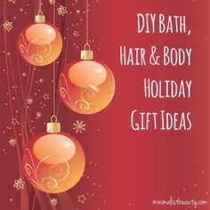 With a little creativity, DIY bath, hair, and body gifts are luxuriously amazing. Plus DIY holiday gifts are double the love! Christmas Gifts 2016, Diy Holiday Gifts, Diy Gifts, Diy Fragrance Body Oil, Minimalist Beauty, Health And Beauty, Bath And Body, Creative, Gift Ideas