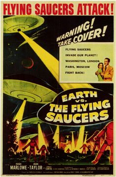 Earth vs. the Flying Saucers (1956), movie poster