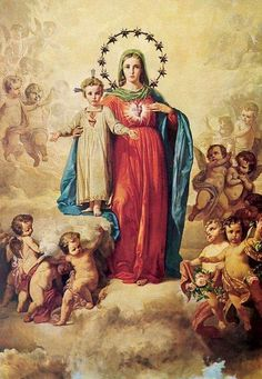 2017-08-06_02-32-36 | Adelante la Fe | Flickr Religious Pictures, Religious Icons, Religious Art, Immaculée Conception, Jesus E Maria, Images Of Mary, Bing Images, Mama Mary, Lady Of Fatima