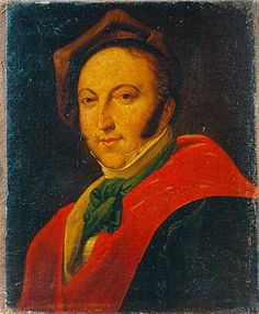 Gioachino Rossini (1792-1868), painting (1820), by Constance Mayer La Martinière (1775-1821).