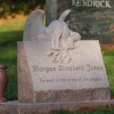 Child memorial for the Jones family
