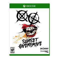 This HD wallpaper is about Sunset Overdrive logo, Xbox One, white background, art and craft, Original wallpaper dimensions is file size is Sunset Overdrive, All Xbox One Games, Latest Hd Wallpapers, How To Make Box, Video Game Art, Box Art, Videos, Wii, Videogames