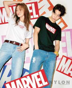 Lee Sung Kyung and Nam Joo Hyuk - Nylon Magazine April Issue '16